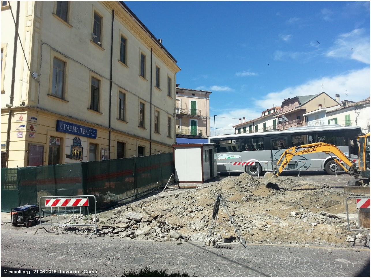Lavori pubblici casoli 21 giugno 2016 lavori di for Lavori di manutenzione straordinaria